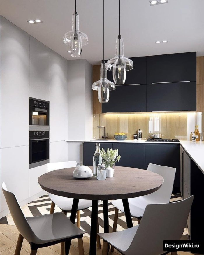 современный дизайн кухни 10 м2