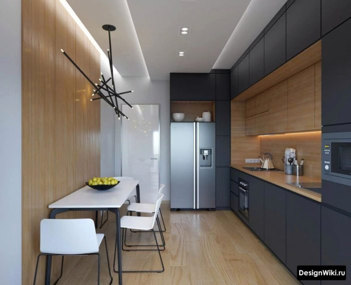 угловая кухня 12 кв м