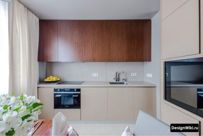шторы на кухне в стиле хай тек