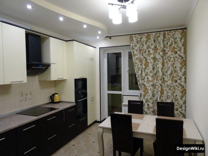 шторы на кухне 12 кв м