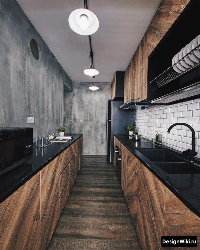 кухни серого цвета