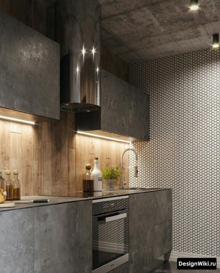с каким цветом сочетается серый цвет в интерьере кухни
